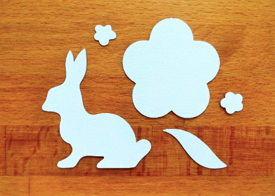 Spring Die Cut Cards Spare Pieces