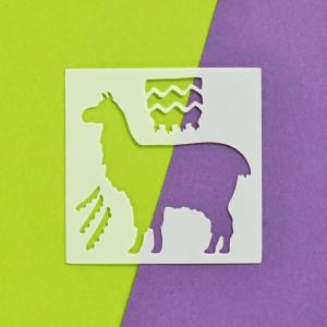 Llama 3x3 Stencil Happy Scatter
