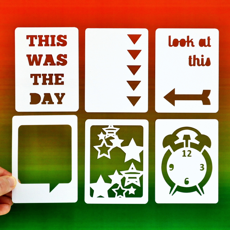 Everyday 3x4 Cards Happy Scatter