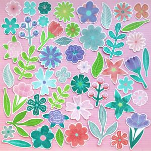 Flourish Flowers And Leaves Die Cuts